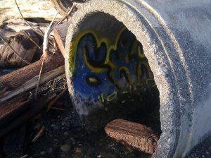 Culvert graffiti