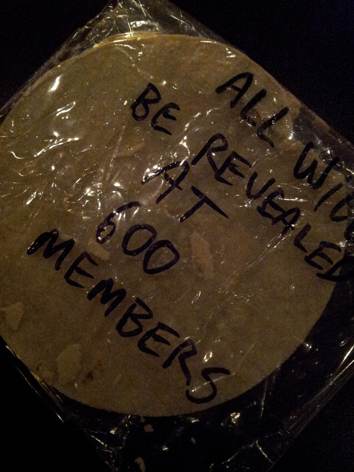All Will be Revealed at 600 Members