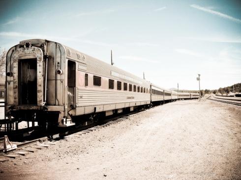 Train at Williams, AZ